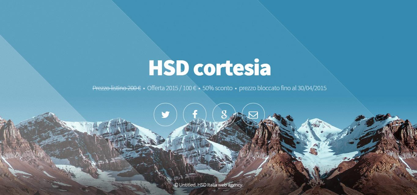 HSD cortesia